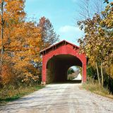 Wright Bridge. Picture taken in 1960 by the father of Thomas Keesling.