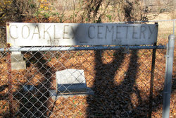 Coakly Cemetery sign