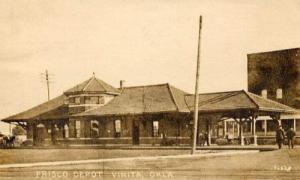Frisco, Depot, Vinita, Oklahoma