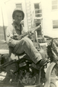 HB Stevens Jr-Fort Riley, KS in 1943