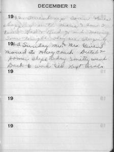 Diary Dec 12
