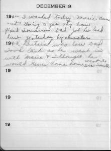 Diary Dec 9