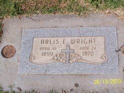 Arlis Eldo Wright Tombstone